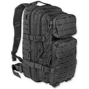 Mil-Tec Black Small Laser-Cut Assault Pack 14002602
