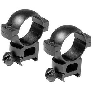 Barska 30mm Weaver Style Rings Extra High Aluminum Matte Black