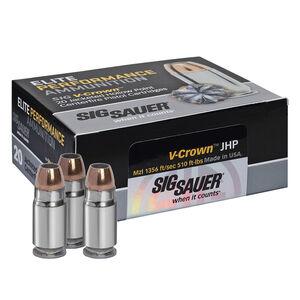 SIG Sauer V-Crown .44 Remington Magnum Ammunition, 20 Rounds, JHP, 240 Grains