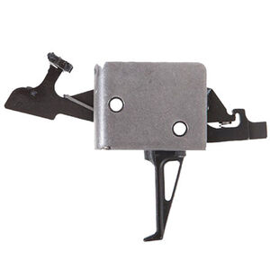 """CMC Triggers AR-15 Drop-In Two Stage Match Trigger Flat 2-4 LB .154"""" Small Pin Receiver Matte Black"""