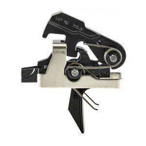 Geissele Automatics Super MCX SSA Trigger Dynamic Flat Trigger Shoe Semi-Automatic Two Stage 4.5lbs Non-Adjustable Steel Black