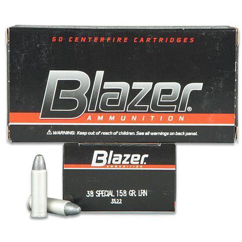CCI Blazer .38 SPL 158 Grain LRN 50 Round Box 755 fps