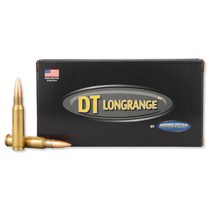 DoubleTap .308 Winchester Ammunition 20 Rounds Match BTHP 168 Grains 308W168M
