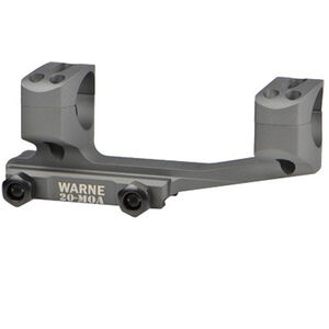 "Warne X-Skel Scope Mount 20 MOA 1"" Aluminum Tactical Gray"