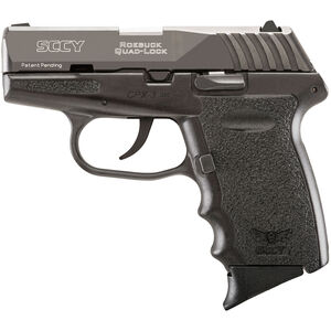 "SCCY CPX-3 .380 ACP Semi Auto Pistol 2.96"" Barrel 10 Rounds No Safety Black Polymer Frame with Black Finish"