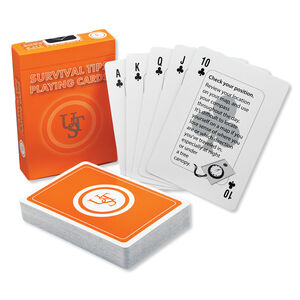 Ultimate Survival Technologies Survival Playing Cards 20-02700-08