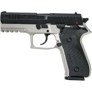 "FIME Group Rex Zero 1S 9mm Luger Semi Auto Pistol 4.3"" Barrel 17 Rounds Metal Frame Two Tone Grey/Black Finish"