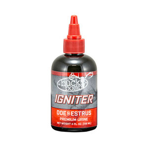 Hunters Specialties Buck Bomb Igniter Doe N Estrus 4 oz Dropper Bottle