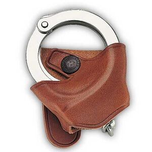 Galco SC9 Handcuff Case for Belt or Shoulder System Leather Right Hand Tan SC92