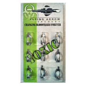 Flying Arrow Toxic Replacement Blades 100 Grain 9 Pack