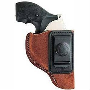 "Bianchi Waistband Holster Medium-Frame Revolvers 3"" Barrels Size 3 Right Hand Suede Rust"