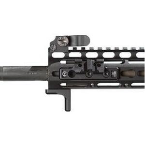 Impact Weapons Components THORNTAIL Offset KeyMod Mount for SureFire's M300's, M600's Mini-Scout Aluminum Matte Finish Black LKEYM3M61913