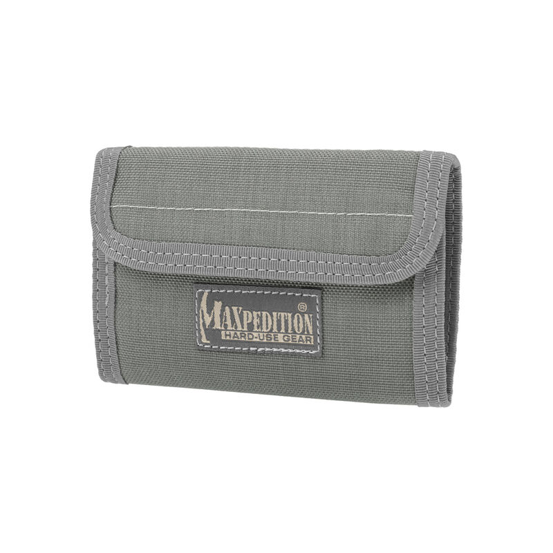 "Maxpedition Spartan Wallet 5.5""x0.5""x3.75"" 1000 Denier Foliage Green"