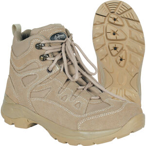 """Voodoo Tactical 6"""" Tactical Boot Nylon/Leather Size 13 Wide Khaki Tan 04-9680083197"""