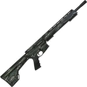 "Brenton USA Ranger Carbon Hunter 6.5 Grendel AR-15 Semi Auto Rifle 18"" Barrel 5 Rounds Free Float Handguard Fixed Stock Foliage Camo Finish"
