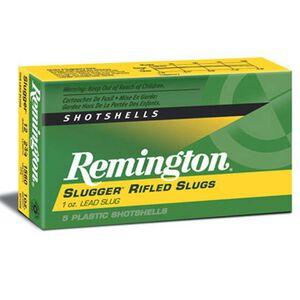 """Remington 12 Gauge Ammunition 5 Rounds 2.75"""" Rifled Slug 1.0 oz."""
