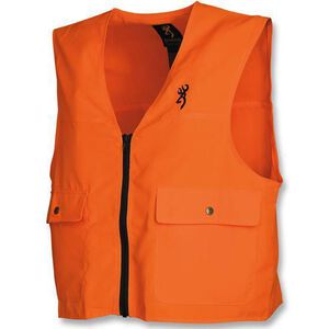 Browning Safety Blaze Vest Medium Polyester Blaze Orange 3051000102