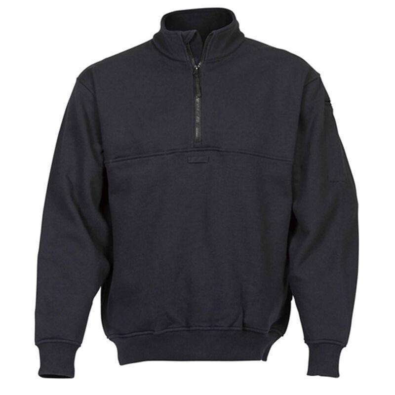 Elbeco Shield Job Shirts Self Collar Size XL Tall Cotton Blended Fleece Midnight Navy