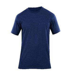 5.11 Tactical Professional Pocket Short Sleeve Cotton T-Shirt 3 Extra Large Fire Navy 71307