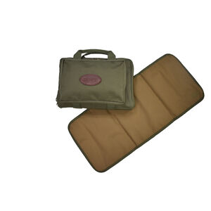 Boyt Harness Gun Cleaning Bag with Cleaning Mat OD Green Canvas CK20