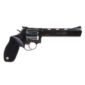 """Taurus Tracker 17 Double Action Revolver .17 HMR 6.5"""" Barrel 7 Rounds Fixed Front Sight/Adjustable Rear Sight Ribber Grip Matte Black Finish"""