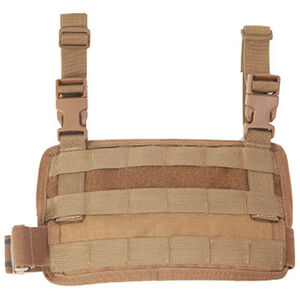 High Speed Gear Padded Leg Panel MOLLE Compatible Cordura Coyote Brown
