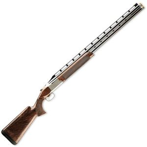 "Browning Citori 725 Sporting Over/Under Shotgun 12 Gauge 32"" Barrel 3"" Chamber High Rib Oil Gloss Walnut Stock HiViz Pro Comp Sight Silver Nitride Finish 0136243009"