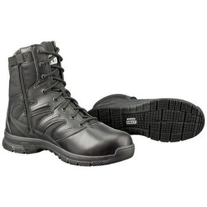 "S.W.A.T. Force 8"" SZ Men's Boot 9.5 Reg Leather/Nylon Blk"