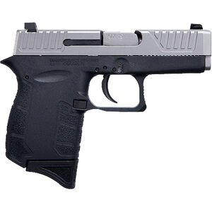 "Diamondback DB9 Gen 4 9mm Luger Semi Auto Pistol 3"" Barrel 6 Rounds Black Polymer Frame with Nickel Boron Slide Finish"