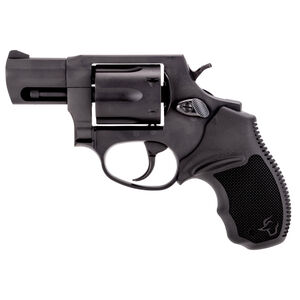 "Taurus 856 UL Ultralite .38 Special +P Double Action Revolver 2"" Barrel 6 Rounds Fixed Sights Rubber Grips Black Finish"