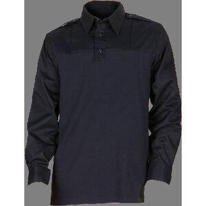 5.11 Tactical PDU Rapid Long Sleeve Shirt Polyester Cotton Medium Regular Silver Tan 72197