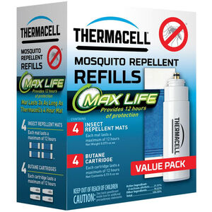 Thermacell Max Life Mosquito Repeller Refill Value Pack