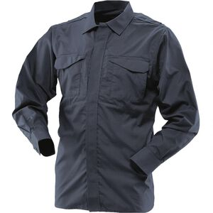 Tru-Spec Men's 24-7 Series Ultralight Long Sleeve Uniform Shirt Regular/Long Navy 1058005