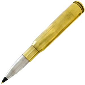2 Monkey Trading Lucky Shot USA .50 BMG Pen Once Fired BMG Brass Casing RBPEN