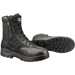 """Original S.W.A.T. Classic 9"""" SZ Safety Plus Men's Boot Size 9 Wide Composite Safety Toe ASTM Tested Non-Marking Sole Leather/Nylon Black 116001W-9"""