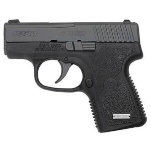 "Kahr Arms P380 Semi Automatic Handgun, .380 ACP, 2.53"" Barrel, 6 Rounds, Night Sights, Black Polymer Frame, Matte Black Stainless Steel Slide"