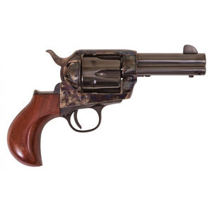 "Cimarron Thunderball 1873 Revolver 357 Mag 3.5"" Barrel 6 Rounds Walnut Grips Case Hardened/Blued"