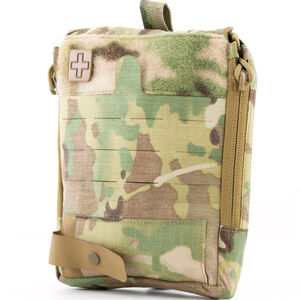Eleven 10 TEMS First Line Pouch MOLLE Compatible Nylon Multicam