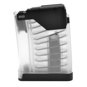 GLFA AR-15 .450 Bushmaster Magazine Modified Lancer Magazine 5 Round Polymer Clear