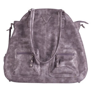 Signature Products Group Browning Harper Concealed Carry Bag Faux Leather Gun Metal Gray BBG09002