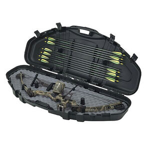 """Plano Protector Bow Case 2 49""""x19.5""""x6.5"""" Arrow Storage Airline-Approved Black"""