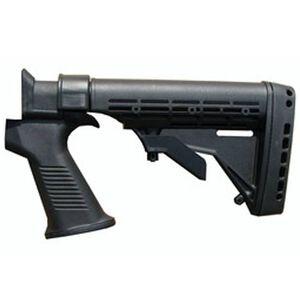 Phoenix Technologies SAIGA KickLite Stock 6 Position M4 Style Recoil Suppression Polymer Black KLT004