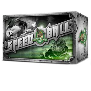 "Hevi-Shot SpeedBall 12 Ga 3"" #1 Leadless 1.25oz 10 rds"
