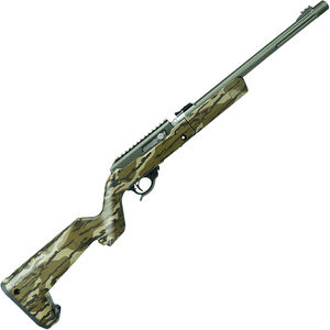 "Tactical Solutions X-Ring Takedown Semi Auto Rimfire Rifle .22 LR 16.5"" Threaded Barrel 10 Rounds MO Bottomland Camo Magpul Backpacker Stock OD Green Finish"