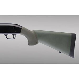 Hogue OverMold Stock Mossberg 500 Rubber OD Green 05210