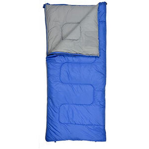 "Chinook Trailblaze 2  Sleeping Bag 32 F rating 75""x33"" Blue"