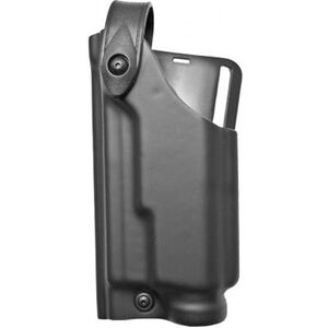 Safariland 6280 SLS Level II Retention Duty Holster Mid Ride Left Hand, GLOCK 17, 22 with Light, Basket Weave Black 6280-8321-81