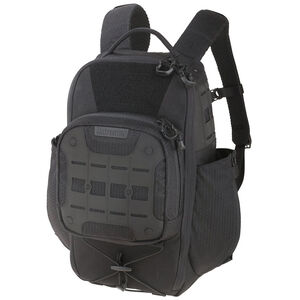 Maxpedition AGR Advanced Gear Research Lithvore Backpack 1040 Cubic Inch 16.5x9x17 Dual Nylon Fabric 500D Hex Ripstop/1000D Plain Weave Matte Black