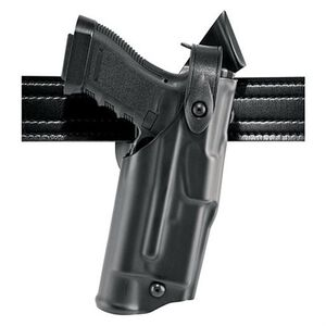 Safariland 6360 ALS SLS Retention Duty Holster Beretta 92FS, Mid Ride UBL, Right Hand, Hi-Gloss Black 6360-73-91