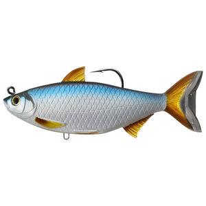 "Live Target Lures Golden Shiner Swimbait 5.5"" #9/0 Medium-Slow Silver/Blue"